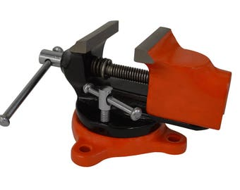 "Mini Benchtop Revolving Swivel Vise w/ 2"" Opening Jaws Jewelry Making Work Holder Tool - HOLD-0044"