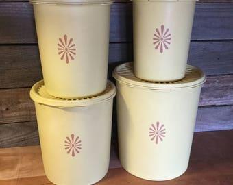 Vintage Tupperware Canister Set