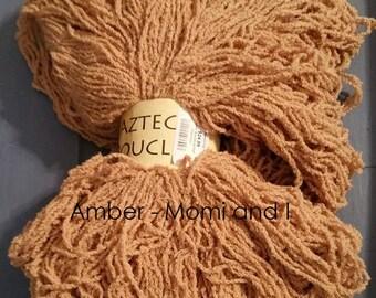 Aztec Boucle - 97 percent Organic Cotton and 3 percent Nylon