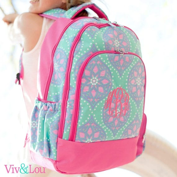 Marlee Backpack and Lunchbox with FREE Monogramming Back to