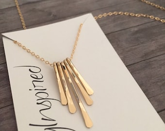Drop Necklace, Dainty Necklace, Delicate Necklace, Everyday Necklace, Minimalist Necklace, Simple Necklace, Gold Filled Necklace