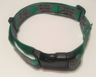 Star Wars Yoda Quote Dog Collar