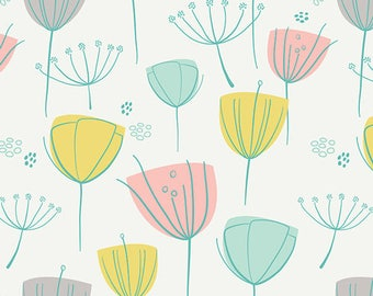 1 Yard Reverie Fusions by AGF Studio - Floral Frolic Reverie 802