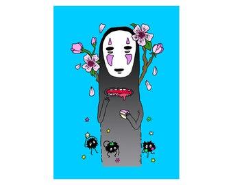 No Face, 8x10, Print