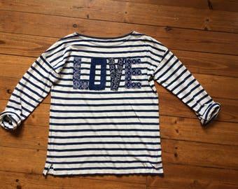 m size breton indigo t-shirt 45rpm garcons style visvim workwear