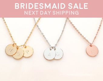 Disc Necklace Monogram Necklace Best selling items Family Tree Necklace Personalized Grandmother Jewelry - CN