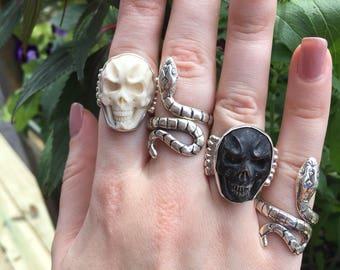 Skull rings/7&8