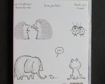 """Stampin' Up! - Retired - """"Love You Lots""""- Rare"""