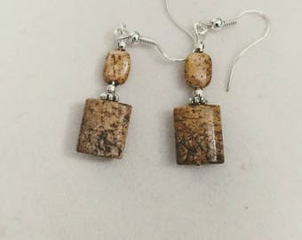 Picture jasper and sterling silver