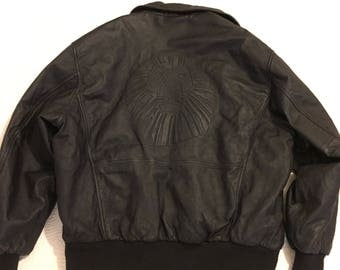Vintage Disney Lion King Leather Jacket