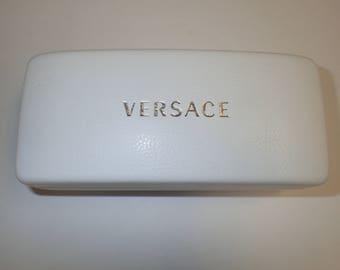 Versace Large White Sunglasses Case