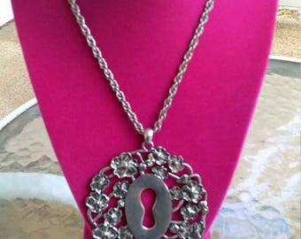 Lock To The Key Of My Heart Necklace