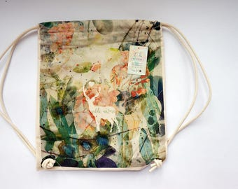 WILD NATURE backpack / bag  - canvas