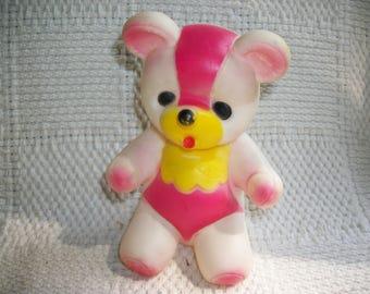 Vintage Bear Squeak Toy Taiwan