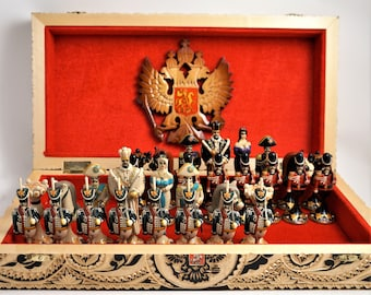 Unique Russian Chess Set