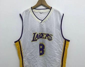 20% OFF Vintage Los Angeles Lakers Jersey/Bryant Lakers Jersey/80s Jersey/Basketball Los Angeles Lakers