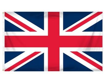 United Kingdom/Union Jack flag - 3x5 ft - Polyester