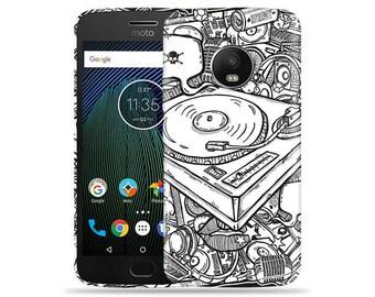 Motorola Moto G6 Case - Motorola G6 Case #DJ Up Cool Design Hard Phone Cover