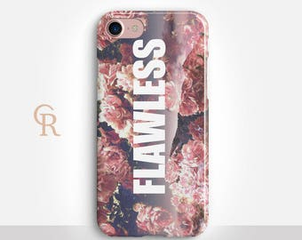 Flawless Phone Case For iPhone 8 iPhone 8 Plus iPhone X Phone 7 Plus iPhone 6 iPhone 6S  iPhone SE Samsung S8 iPhone 5 Beyonce Phone Case