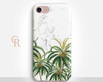 Palm Tree iPhone 6 Case For iPhone 8 iPhone 8 Plus - iPhone X - iPhone 7 Plus - iPhone 6 - iPhone 6S - iPhone SE - Samsung S8 - iPhone 5