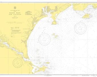 Saco Bay Map - 1943