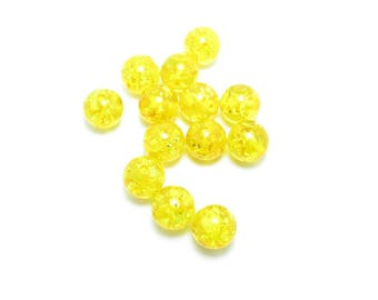 Pearl 8mm resin natural SAP from yellow pine