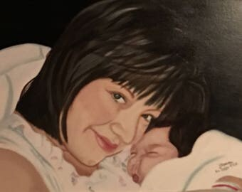 Example: Custom Oil Portrait Paintings