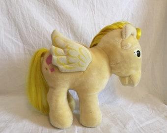 1986 Hasbro Softies My Little Pony Lofty the Pegasus