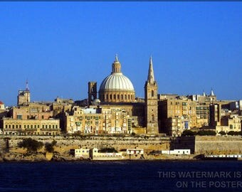 Poster, Many Sizes Available; Malta Mediterranean Sea Country