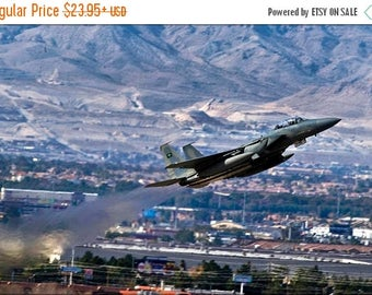 20% Off Sale - Poster, Many Sizes Available; Royal Saudi Air Force F-15 Strike Eagle Nellis Air Force Base