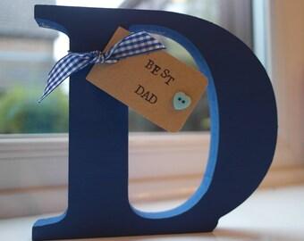 Decorative wooden letter