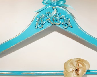 Groom hanger, Groomsmen Hanger, Antique Hanger, Wedding Hanger, ROCOCO hanger, Men's Hanger, Bachelor Party, Exclusive Men's Hanger, Gift