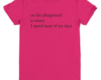 Graphic Youth Tee, Kid's T-Shirt, Funny graphic Kid's Tee, Fresh Prince Funny Youth Tee, Playground Lover