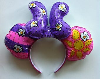 Rapunzel Bedazzled Mickey Ears