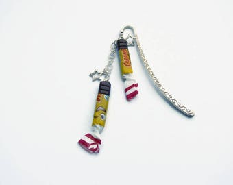 Bookmark polymer clay candy