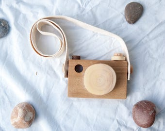 Wood Toy Camera/ Wooden Toy Camera/ Wooden Camera