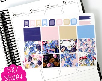 AE A77C Easter Washi Life Planner Kit Stickers!!!!  Perfect for the Erin Condren Planner!!!!