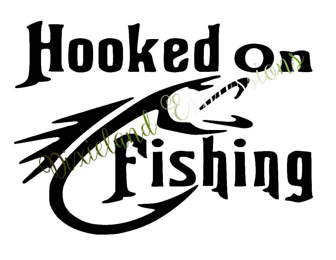 Hunting decals fishing decals for autos weblog for Fishing vinyl decals