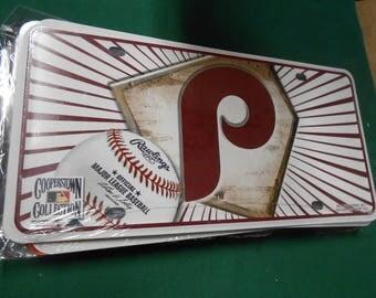 NEW- Philadelphia Phillies License Tag