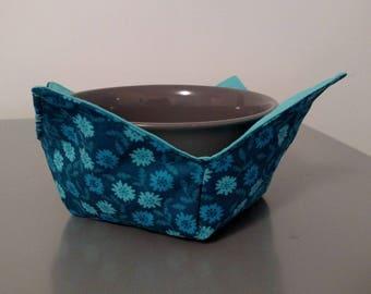 Bowl Holder - Blue Floral