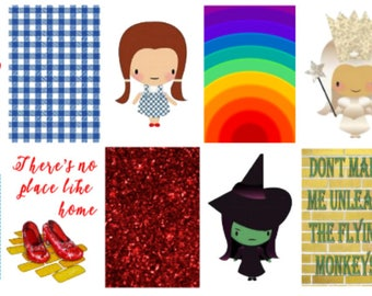 Over The Rainbow | Wizard of OZ | Planner Stickers | Weekly Kit | MAMBI | Matte | Glossy