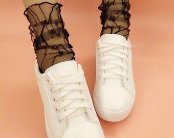 Glam Lace Socks !