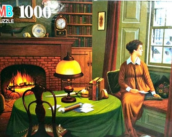 Charles Wysocki Puzzle Her Captains Wistful Letter 1000 Piece NEW Sealed 1995 Made in USA Jigsaw Puzzle