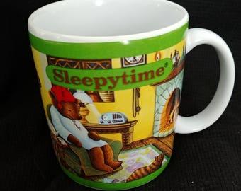 Vintage Celestial Seasonings Mug Sleepytime 1993 Bears //Bread and Water Can So Easily be Toast and Tea // Tea Lover Gift