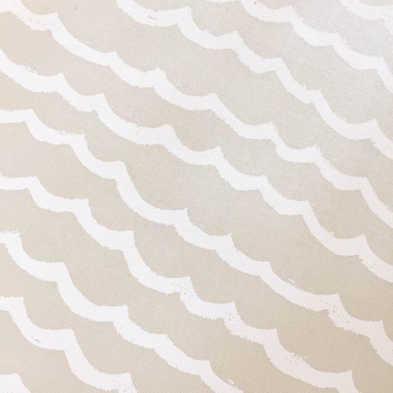 Boppy Cover - KUJIRA Waves in Sand - MADE-to-ORDER - Boppy Lounger Nursing Pillow beige neutral boppy, cream ocean boppy, khaki boppy
