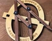 Phi Gauge - Golden Ratio Gauge - Fibonacci Gauge - Phi... its the magic number