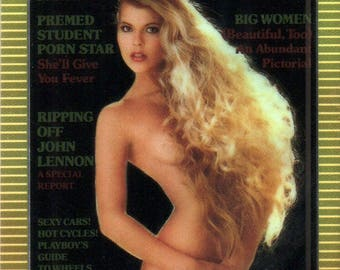MATURE - Playboy Trading Card Chromium Cover Cards II - #169 March 1984