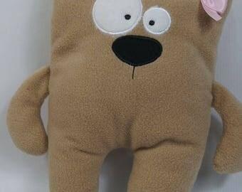 Fabric bear Sweety, stuffed animal, stuffed animal