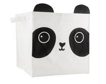 box, storage, nursery, child, panda, AIKO, KAWAII FRIENDS storage BASKET