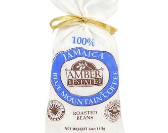 SALE 100%  BEAN Coffee Jamaica Blue Mountain World Best - 4 oz (113 g) Amber Estate STARBUCKS Premium Coffee S-Limited